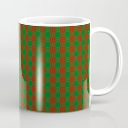 Scottish Clan Menzies Tartan Plaid Coffee Mug