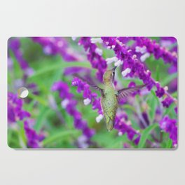 Purple Attraction Hummingbird Cutting Board
