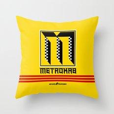BladeRunner- MetroKab Throw Pillow