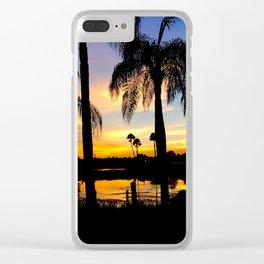 Coronado Springs Sunset Clear iPhone Case