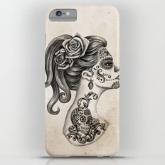 Day of the Dead Girl iPhone 6 Plus Slim Case