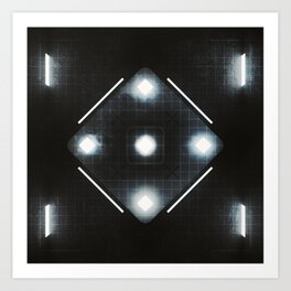 20160221 | NOTHING BUT CUBES Art Print