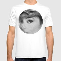 ArcFace - Audrey Hepburn  Mens Fitted Tee White MEDIUM