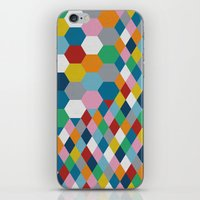 honeycomb iPhone & iPod Skins featuring Honeycomb by Project M