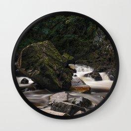 Conway Falls Wall Clock