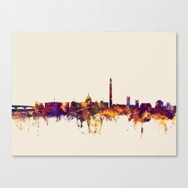 Washington DC Skyline Canvas Print