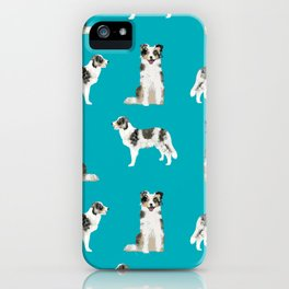 Border Collie dog breed gifts collies herding dogs pet friendly iPhone Case