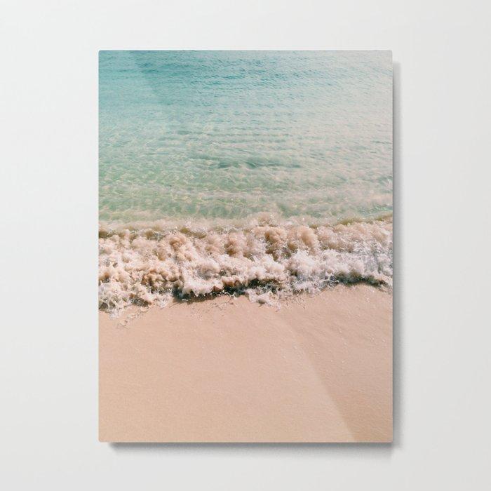 Sand / Sea Metal Print