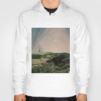 camping Hoodies featuring Sky Camping by Ffion Atkinson