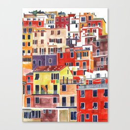Cinque Terre vol 3 Canvas Print