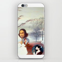 Mona Lisa and Friends iPhone Skin
