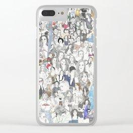 WOMXN IN POWER Clear iPhone Case
