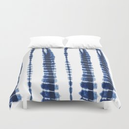 Indigo Blue Tie Dye Delight Duvet Cover