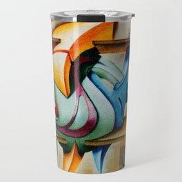 Fish 2000 - graffiti Travel Mug