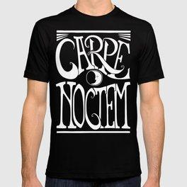 Carpe Noctem - black T-shirt