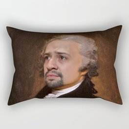 Alexander Hamilton Musical Classical Painting Rectangular Pillow