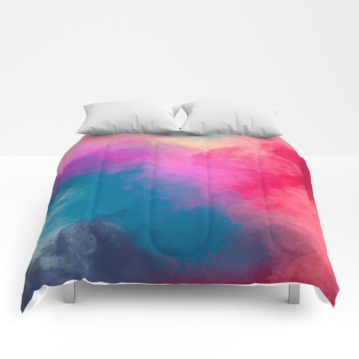 Abstract 01 Comforters