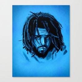 J. Cole Canvas Print