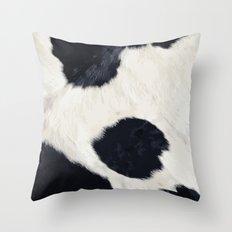 Cow Skin Throw Pillow