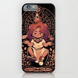 Pizza Goddess iPhone Case