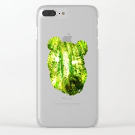 Panda's Haven Clear iPhone Case