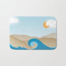 Beach Paradox Bath Mat
