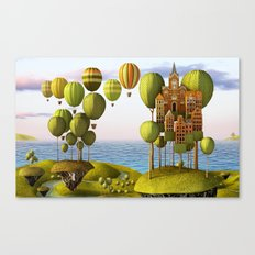 City in the Sky_Lanscape Format Canvas Print