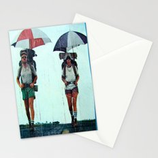Rain Hiking Stationery Cards