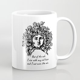 Sylvia Plath - Lady Lazarus Coffee Mug