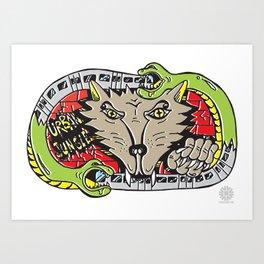 FUZI X STREETART.COM Art Print