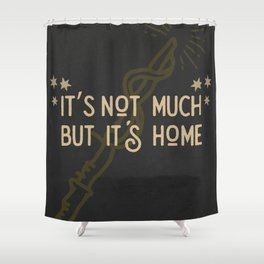 But Its Home Potter Puff Shower Curtain