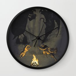 Let's settle it - in the shadows. Wall Clock