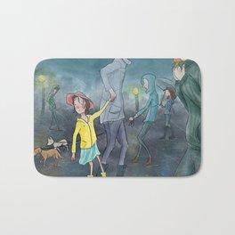 Children's Illustration Bath Mat