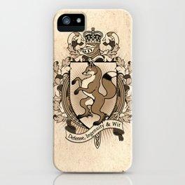 Fox Coat Of Arms Heraldry iPhone Case