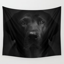 I met a girl (Black and white version) Wall Tapestry