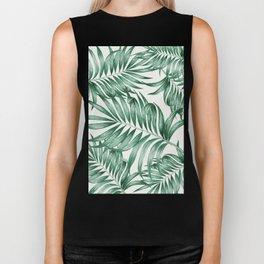 Palm Leaves Biker Tank