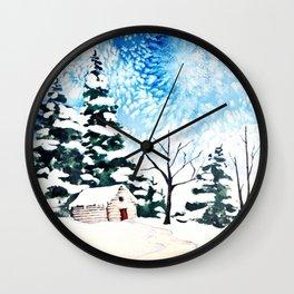 Flurries  Wall Clock