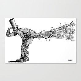 The Extravagant Flatulator Canvas Print