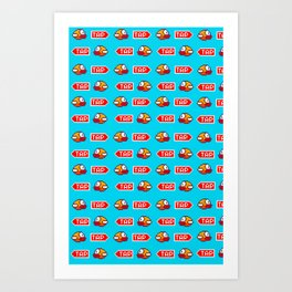 Flappy Bird Tap Art Print