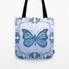Butterfly Nucleus Tote Bag