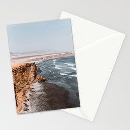 The end of the desert Stationery Cards