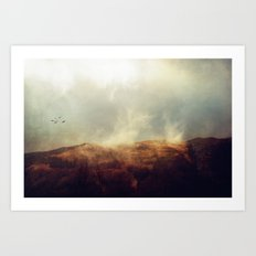 There is magic in the wild places of earth. Art Print