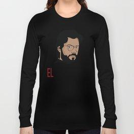 LA CASA DE PAPEL tee shirt El Profesor Long Sleeve T-shirt