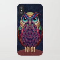 ali iPhone & iPod Cases featuring OWL 2 by Ali GULEC