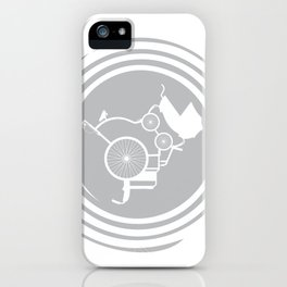 LifeCycle (spiral) iPhone Case