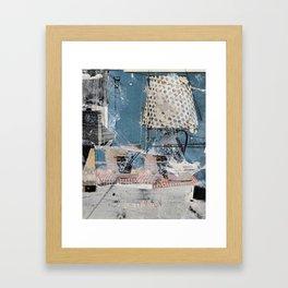 merge Framed Art Print