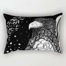 Steller's sea eagle (Haliaeetus pelagicus) Rectangular Pillow