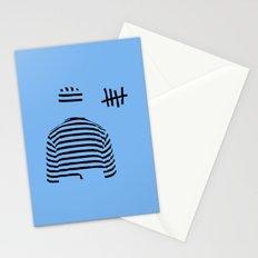 prison (blue ver.) Stationery Cards