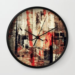 """""""Messages"""" Inspired by the Bobby McFerrin music. Wall Clock"""