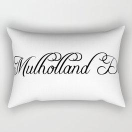 Mulholland Drive Rectangular Pillow